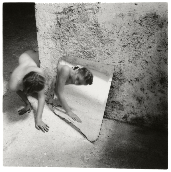 Francesca Woodman, Self deceit 1, Rome Italy, 1978 © Betty and George Woodman