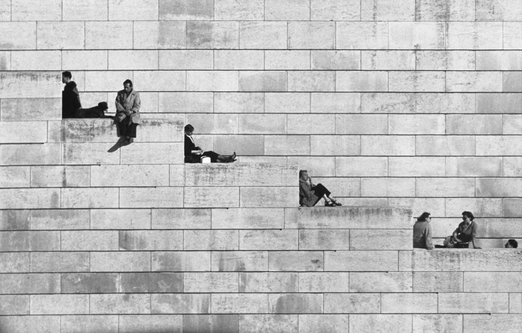 Doisneau • La diagonale dei gradini