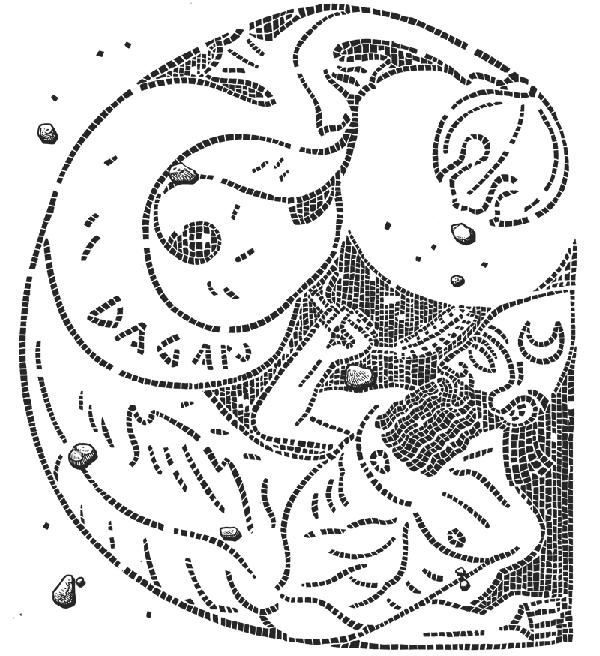 Mosaic Dagon di Marcello Crescenzi aka Rise Above