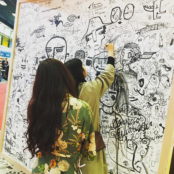 Bologna Children's Book Fair 2017, disegno, illustrazione.