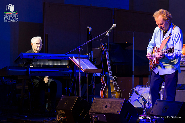 Dave Grusin (Premio Oscar) e Lee Ritenour (Grammy Award) al Forum Music Village