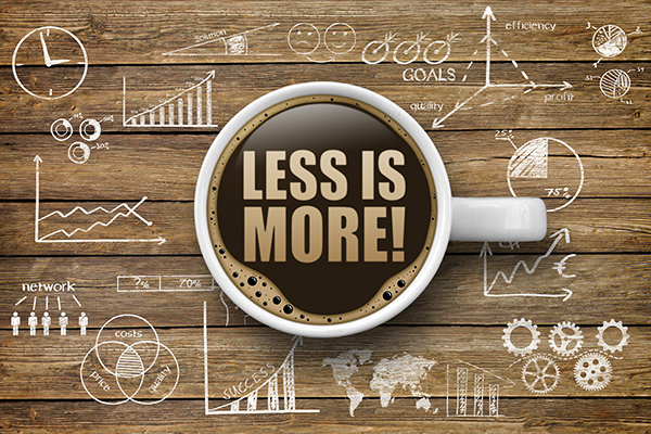 Less is more di Gerry McGovern