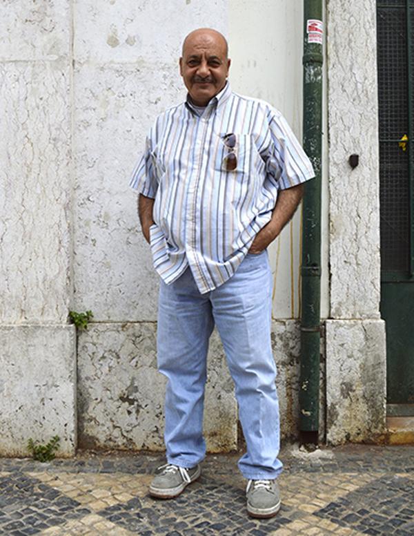 Nizar Almadani,chef e refugee.