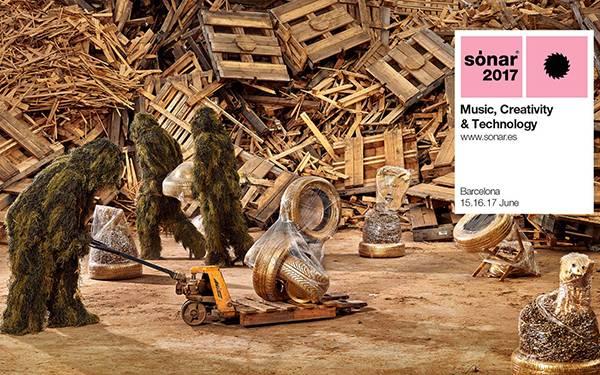 Campagna pubblicitaria Sónar 2017