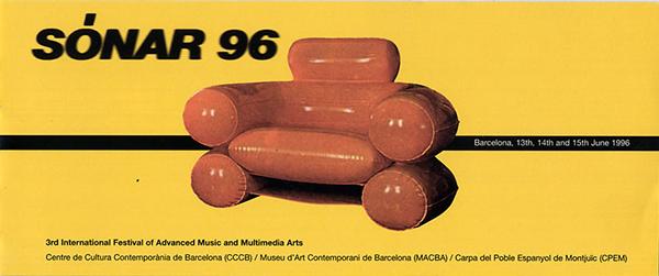 Campagna pubblicitaria Sónar 1996