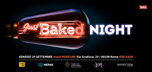 Just Bake Night 2017