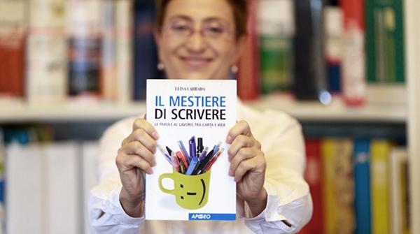 """Luisa Carradae il suo libro """"Il Mestiere di Scrivere"""""""