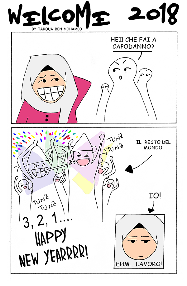 welcome 2018 by Intercultural Comics
