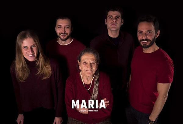 """il team di """"Marìa"""" agenzia creativa e casa di produzione a Palermo"""
