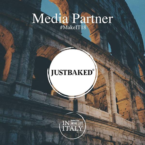 Just Baked è media partner del MARKETERs MakeIT!18