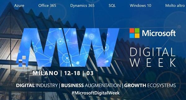 Microsoft Digital Week 2018 Milano