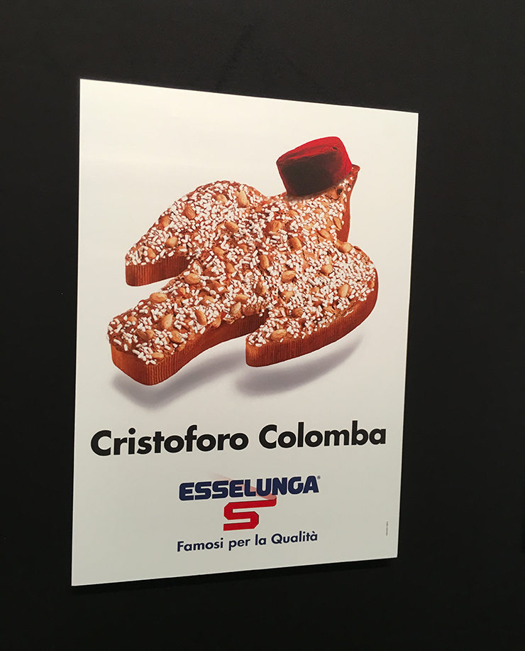 Cristoforo Colomba SuperMostra Esselunga al The Mall Milano
