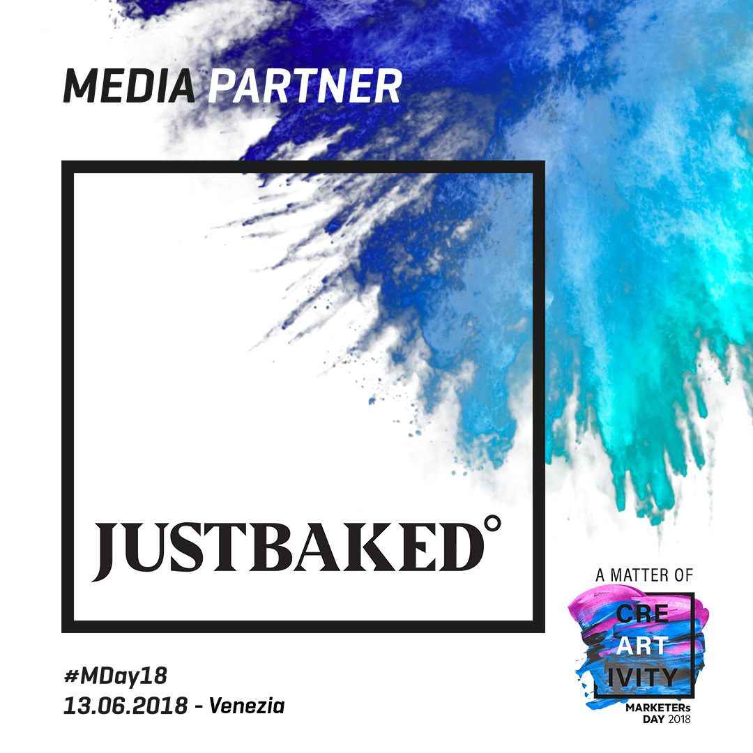 Just Baked è Media Partner del MARKETERs Day 2018