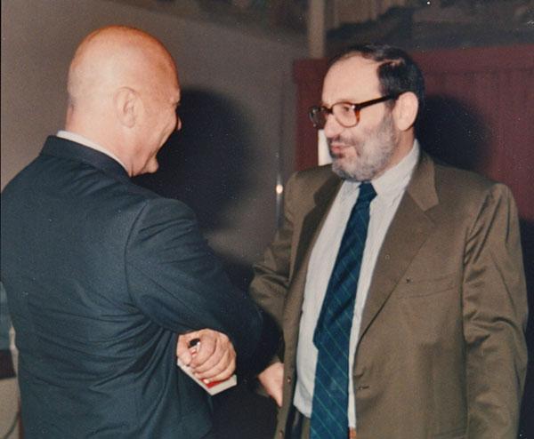 Enrico Cogno & Umberto Eco