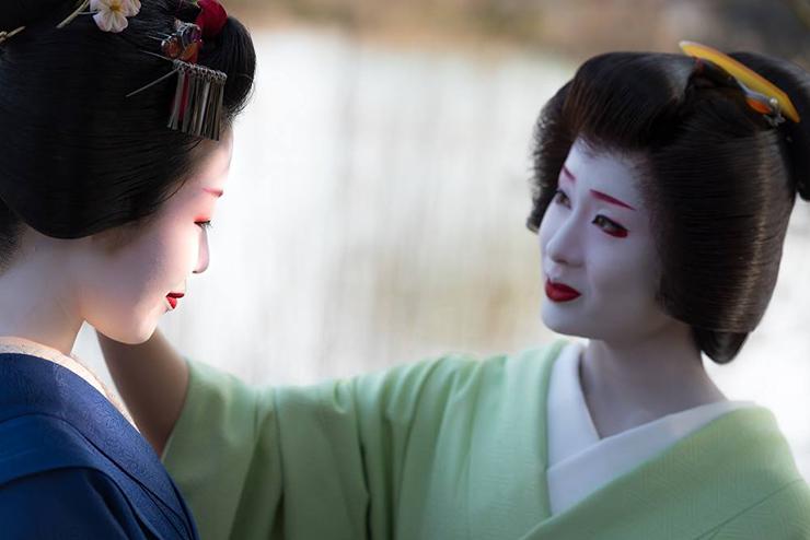 """mostra al Museo Pigorini """"Geisha – l'arte e la persona"""" a cura di Loretta Paderni"""
