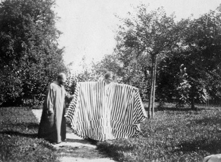 Emilie Louise Flöge e Gustav Klimt
