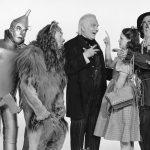 "Jack Haley, Bert Lahr, Frank Morgan, Judy Garland e Ray Bolger, ""Il mago di Oz"" (1939)"