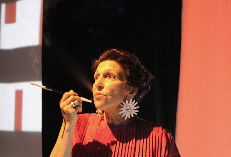 """Caterina Casini in """"Woman before a glass"""""""