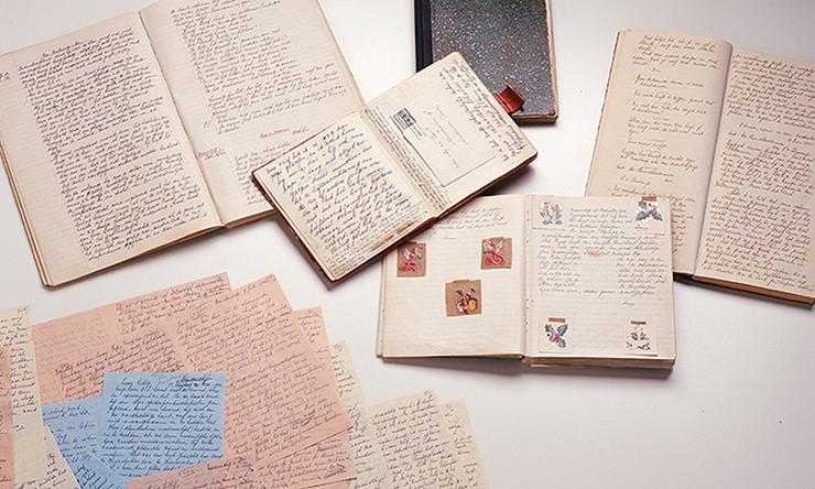 Il manoscritto originale di Anne Frank | Photo collection: Anne Frank Stichting, Amsterdam / photographer: Allard Bovenberg