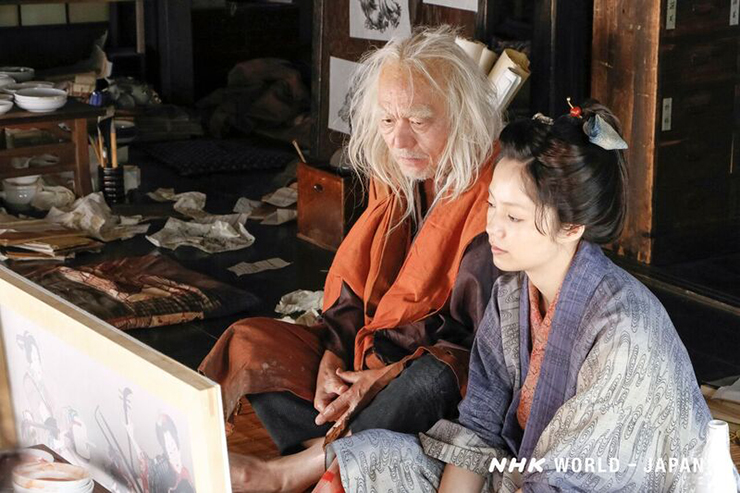 Kurara, la sensazionale vita della figlia di Hokusai- NHK World - Japan