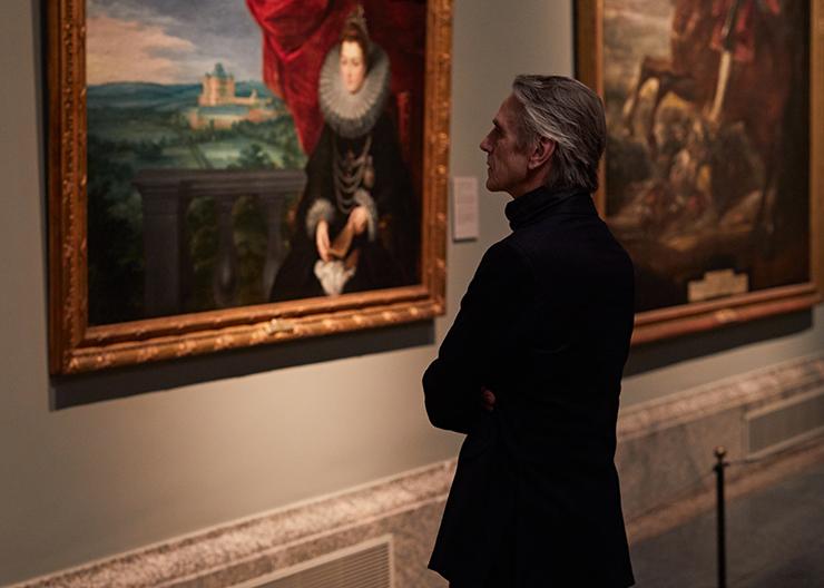"""Jeremy Irons nel film """"Il museo del Prado: la corte delle meraviglie"""""""