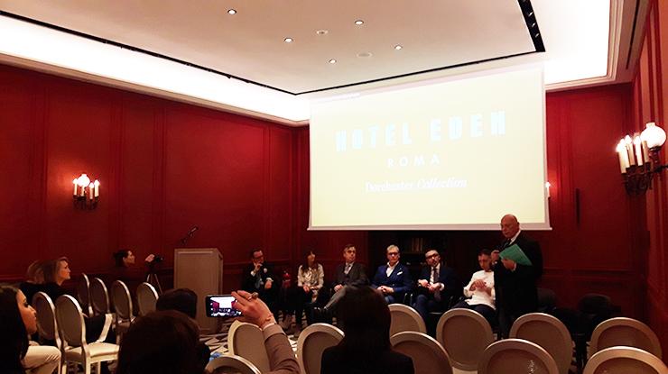 relatori convegno lusso etico Roma 2019