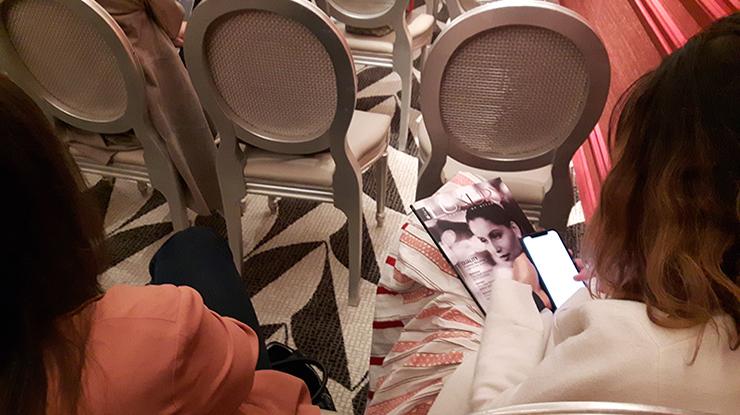 ospiti del convegno sul lusso Eden di Roma 2019