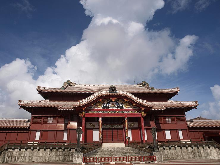 © OCVB OKINAWA Castello di Shuri