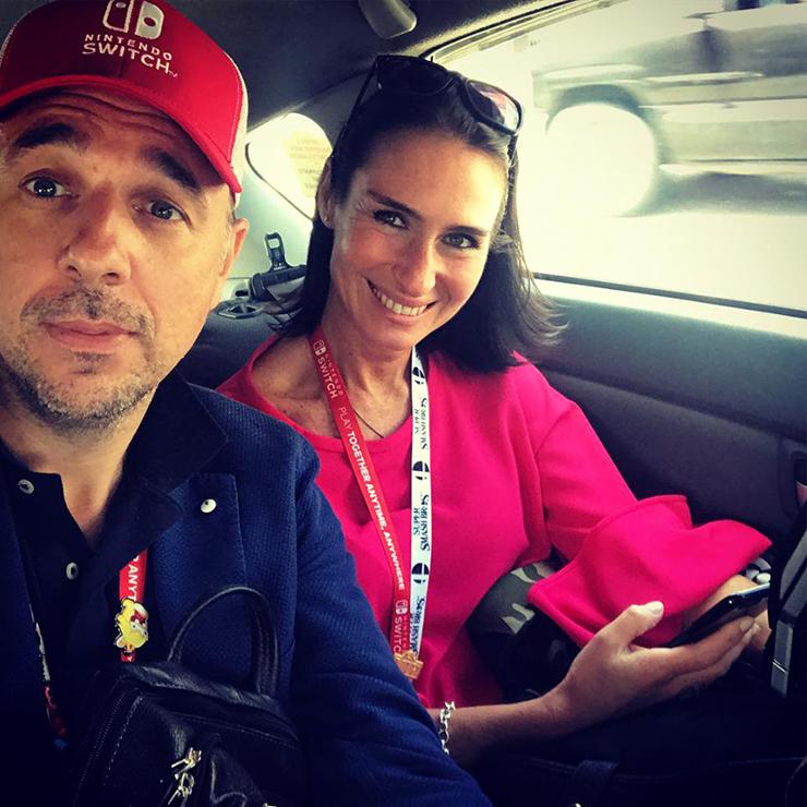 Massimo Bullo e Francesca Prandoni (Nintendo Italia)