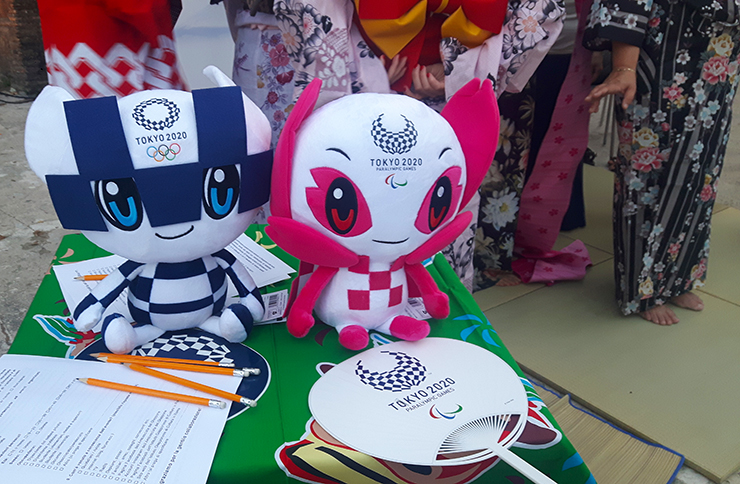 Miraitowa & Someity, le mascotte delle Olimpiadi di Tokyo 2020