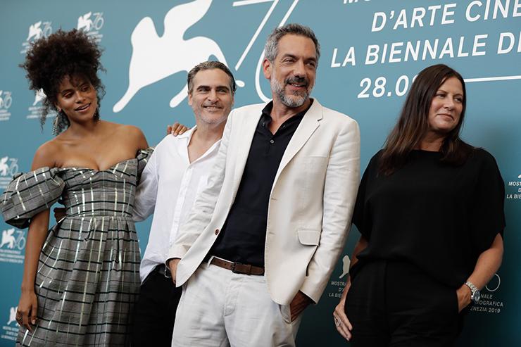 Photocall JOKER, Film delegation | Credits La Biennale di Venezia Ph ASAC
