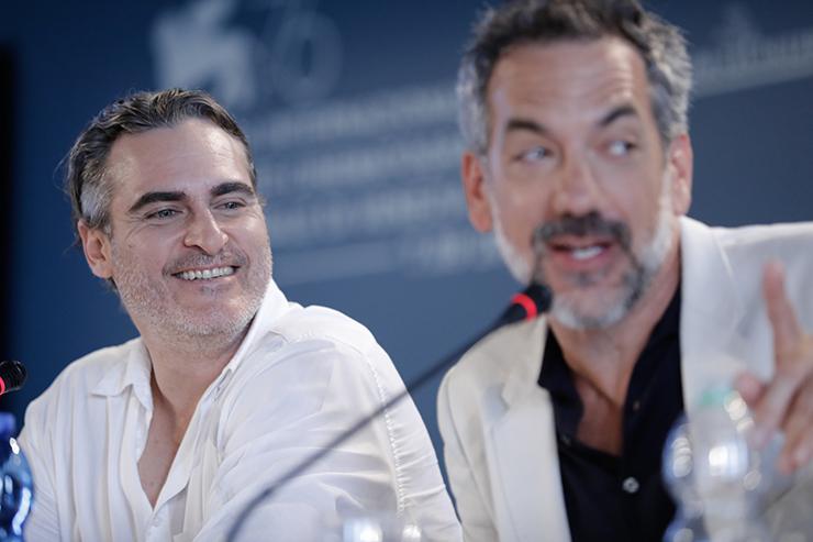 Press Conference JOKER, Joaquin Phoenix and director Todd Phillips | Credits La Biennale di Venezia Ph ASAC