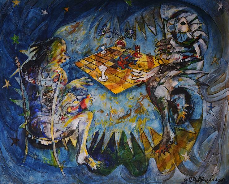Partita a scacchi con la Morte di Giuseppe De Matthaeis