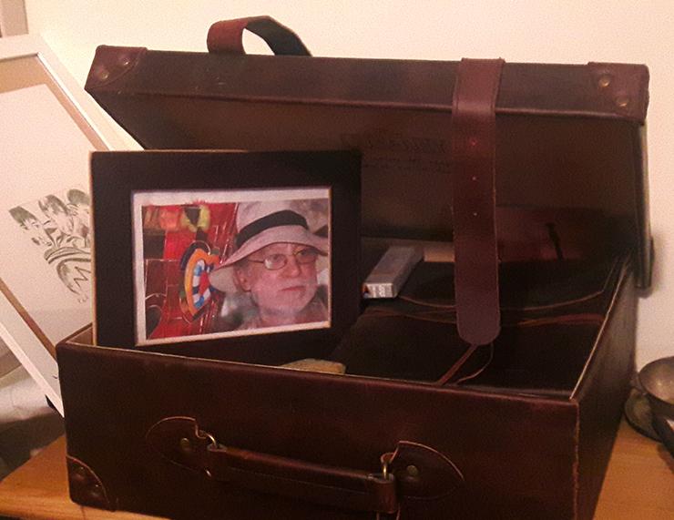 La valigia da viaggio di Giuseppe De Matthaeis