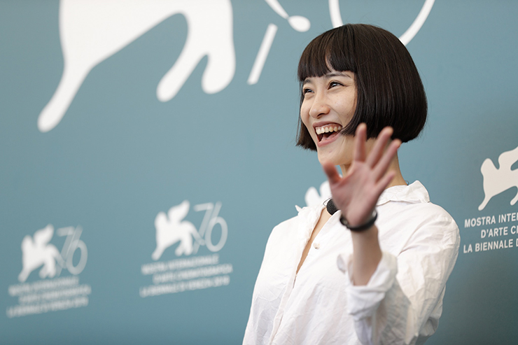 Photocall LAN XIN DA JU YUAN, Actress Huang Xiangli | Credits La Biennale di Venezia Ph ASAC