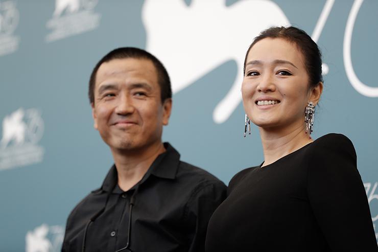 Photocall LAN XIN DA JU YUAN, Director Lou Ye and Gong Li | Credits La Biennale di Venezia Ph ASAC