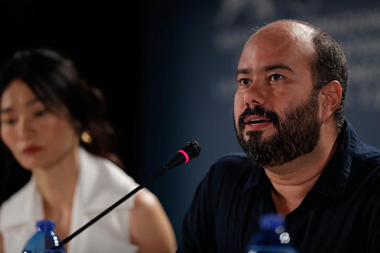 Press Conference WAITING FOR THE BARBARIANS | Credits La Biennale di Venezia Ph ASAC