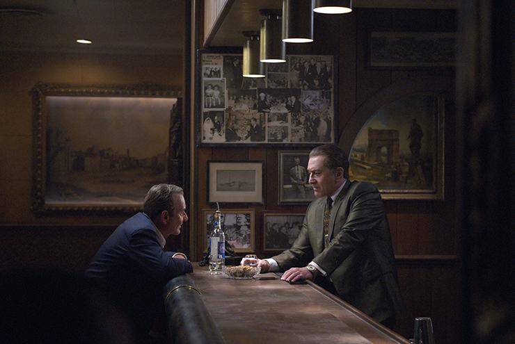 """The Irishman"" (2019) di Martin Scorsese | Joe Pesci (Russell Bufalino), Robert De Niro (Frank Sheeran)"