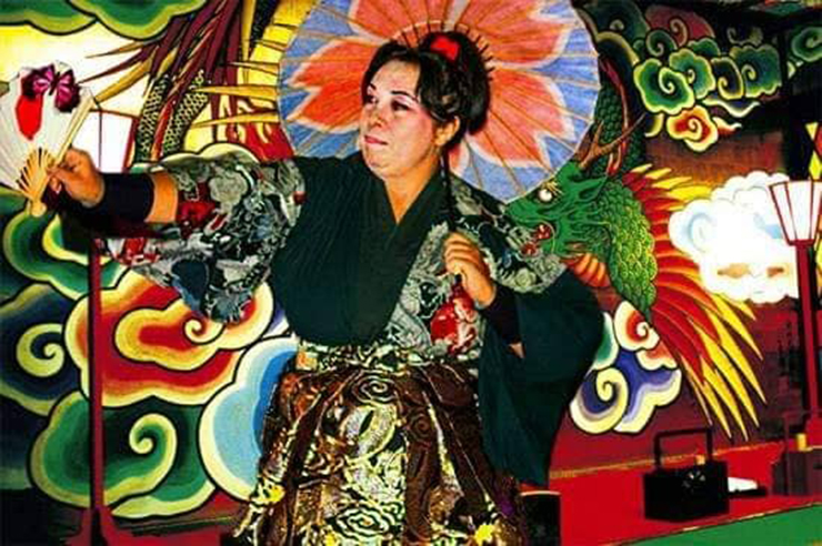 Catia Fucci e il Kabuki Moderno
