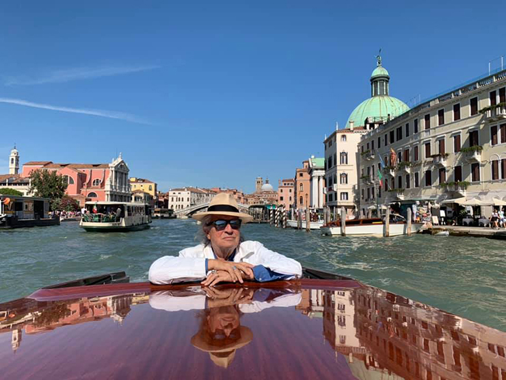 Vittorio Storaro a #Venezia76 | Credits Ph Storaro Art