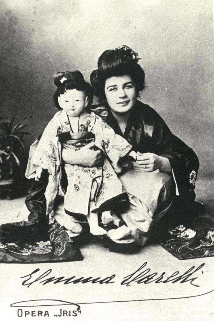 Emma Carelli in Iris (1899) | Teatro Costanzi