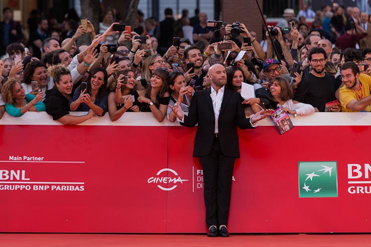 John Travolta sul red carpet di #RomaFF14
