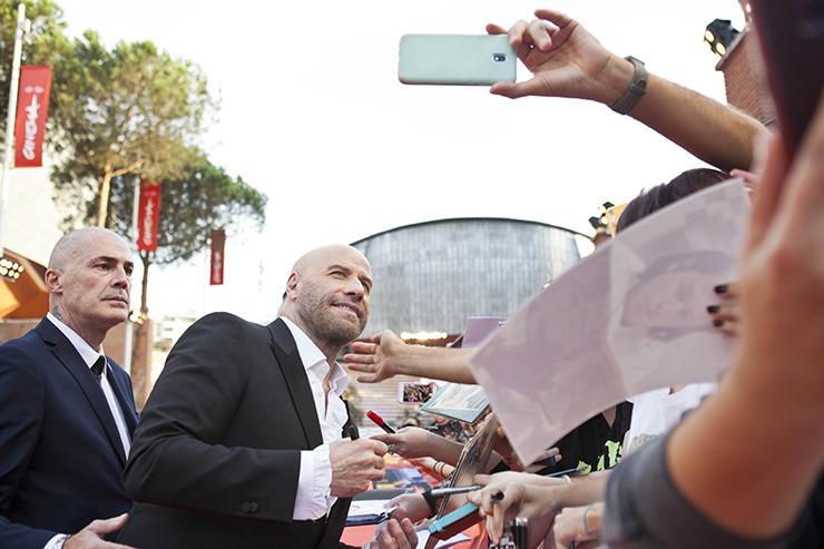 John Travolta sul red carpet | Ph press kit #RomaFF14