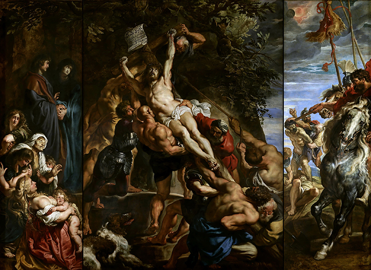 Peter Paul Rubens, Raising of the Cross, 1610