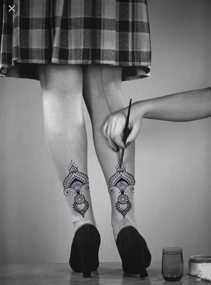 Irie Roots - henné stile calze