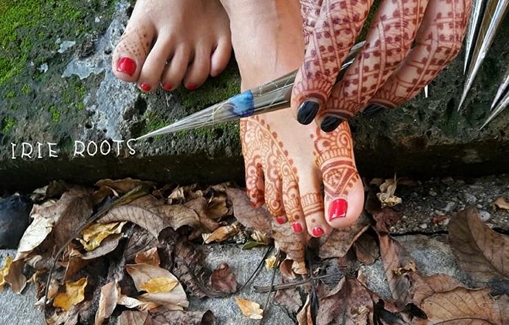 Irie Roots - henné sui piedi