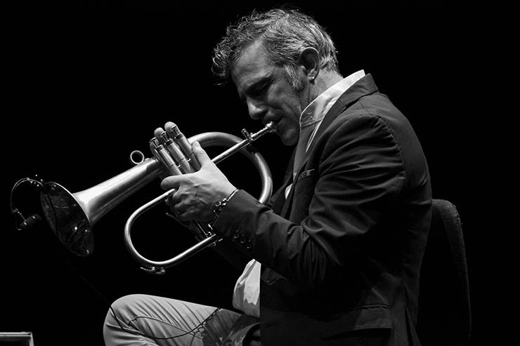 Ph: Paolo Fresu ritratto da Ludovica Casula al Roma Jazz Festival 2019