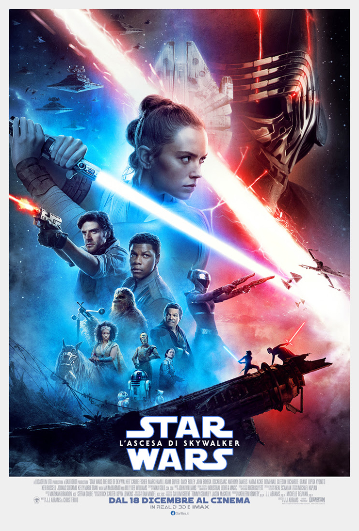 Il poster di Star Wars: L'Ascesa di Skywalker