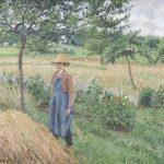 Camille Pissarro, Giardiniere davanti a un covone