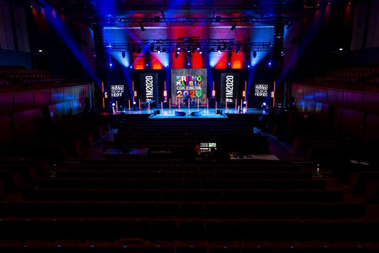 Auditorium Parco della Musica: Stage Primo Maggio 2020